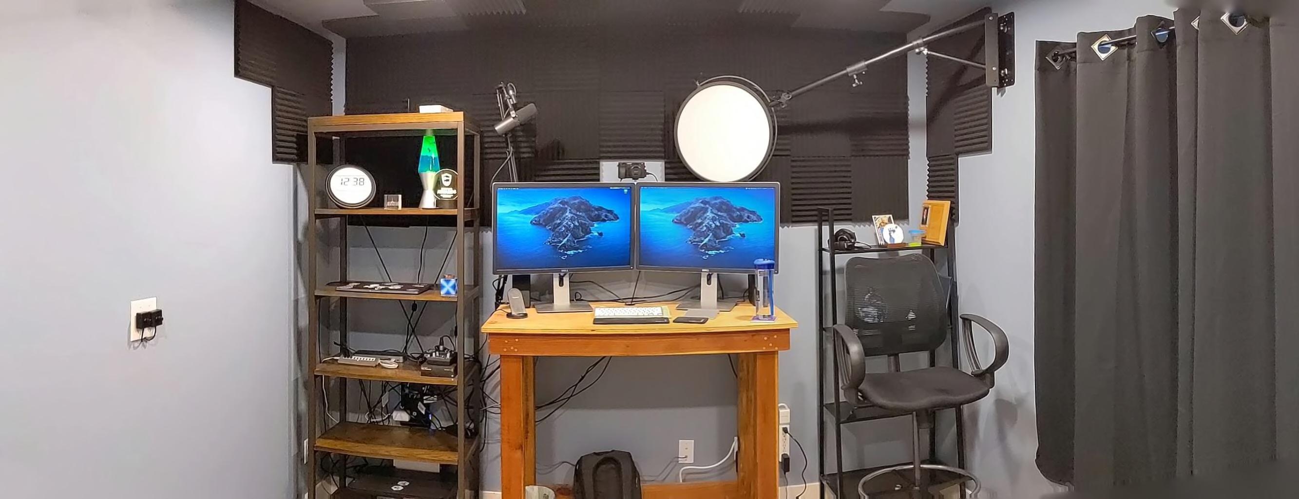 Kent's workspace